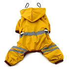 New Pet Dog Cat Raincoat Clothes Puppy Glisten Bar Hoody Waterproof Rain Jackets