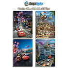 Disney Cars 2 2011 HD Photo Poster Pack RD-5006-001 (A4-A3-A3Plus)