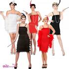 ADULT LADIES FLAPPER 1920s 20's CHARLESTON GREAT GATSBY FANCY DRESS COSTUME