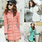 New Style Women's Winter Slim Thicken Parka Cotton Top Coat Jacket OutWear Suit