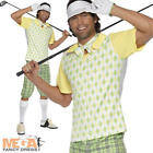 Golfing Golfer Sports Man Fancy Dress Adult Pub Golf Mens Uniform Costume Outfit