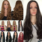UK fashion 3/4 full Women's hair Wigs half wig Cosplay Party black brown blonde