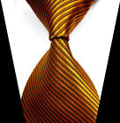 New Fashion Classic Striped Tie JACQUARD WOVEN Men's Silk Suits Ties Necktie