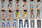 Capri LeggingsTattoo Sexy Tattoo Print * Neu * Jeggings * Tregings Gr. 34-38