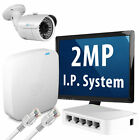 1x2 MP Compacted Full HD Real Time 1080p IP Camera + 4 Channel NVR P2P CCTV Kit