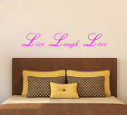 Live Laugh Love - Vinyl Wall Sticker Decal Life Motivational Home Quote Decor 2