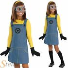 Girl's Official Minion Despicable Me Fancy Dress Costume Book Week Outfit
