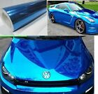 Bubbles Free Mirror Blue Chrome Wrapping Vinyl - Vinyl Film for car sticker