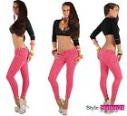 B40 Sexy Ankle Pants Skinny Jeans Denim Trousers Jeggings XS-XL 6-14