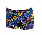 Zoggs SKULLDUGGERY Hip Racer Boys Swim Aqua Shorts Age 3 - 6 years 6005146