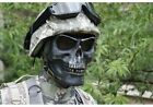 War Game Face Protection silver CS Skull Warrior Armor Airsoft Paintball Mask