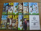 Leeds United Home Football Programmes 1979/1980 Season Inc League Cup & UEFA Cup