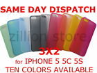 New Ultra Thin Matte Durable Case Cover Bumper For iPhone 5 5S - 10 COLOR 0.3mm
