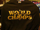 t-shirt New Orleans Saints WORLD CHAMPS 3XL-Med Grey black white pink red