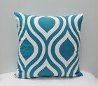 Emily Slub Aquarius Throw Pillow Cover PillowCase / Sham/Toss Pillowcase/Lumbrar
