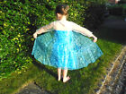 BNWT Girls Disney Frozen QUEEN ELSA Fancy Dress-Up Costume 2-8yr Princess Cape