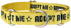 Country Brook® Adopt Me Grosgrain Ribbon Martingale Collar-Collars