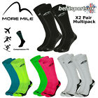 MORE MILE MENS WOMENS LADIES CALIFORNIA LONG RUNNING CALF COMPRESSION SOCKS 1