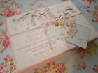 "Personalised Wedding Evening, Day Invitations with Envelopes-""Sample Only"""