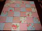 Cath Kidston Ikea Rosali Fabric 10cms x 10cms Patchwork Quilting Squares