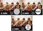 5 SOS - Birthday Party - Party Favors - Scratch Off Tickets! (x12 ct) FUN