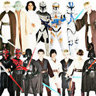 Star Wars Kids Fancy Dress Halloween Movie Boys Girls Childrens Costume Outfits