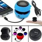 3.5mm PORTABLE RECHARGEABLE MINI CAPSULE SPEAKER FOR APPLE iPHONE 5 5C 5S 5G