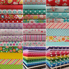 Fat Quarter Bundles 100% cotton fabric remnants patchwork quilting