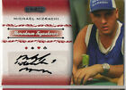 Razor Poker Autograph Card Selection NM Razor 2006-7