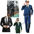 New Formal Mens Slim Fit Stylish Suit / Suits one-button suit set Jacket pants tie
