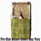 2 New PROCLUB men's underwear Trunk Boxer Shorts PRO CLUB Size 5XL