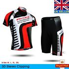 New Bike Bicycle Clothes Short Sleeve Shirt Jersey Shorts Pants 3D Padded Suit