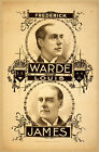 Photo Printed Old Poster: Theatre Flyer 1800s Frederick Warde And Louis James 01