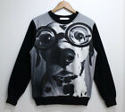 Dalmatians Tide 3D Printed Sweater For Women Men Sweatshirts Tops Long  Sleeve