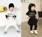 Kids Toddler Clothing Boys Girls Unisex Tops Trouser Outfits Sets Ages 2-7Years