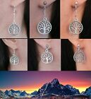 White Tree of Gondor Silver Earrings Lord of the Rings Middle-earth  Hobbit