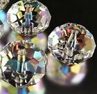 Hot!~~New Multi-Color Crystal Gemstone Loose Beads 4x6mm 6x8mm