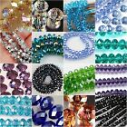 New Multi-Color Crystal Gemstone Loose Beads 4x6mm 6x8mm