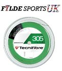 Tecnifibre 305 Squash String 200m Reel Green - 1.30 / 1.20 Gauges