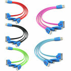 Micro USB/30 8 Pin charging charge cable for iPhone 4 4S 5 5S 6/Plus/iPad/Galaxy