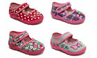 New baby toddler girls canvas shoes slippers trainers sandals size 3 - 7.5 UK