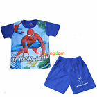 BNWT Spiderman Spider Man Summer Pyjamas Pajamas Pjs SZ 3,4,5,6,8