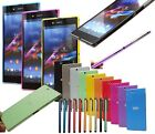Sony Xperia Z Ultra XL39H Slim Translucent Smooth Touch Case Hard Thin Cover