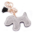 Lady Women 700+ Crystals Cat Heart Bag Handbag Charm Keyring Keychain For Women <br/> Buy 1, get 1 at 40% off-add any 2 to basket