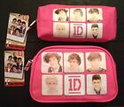 One Direction 1D Cosmetic Toiletry Vanity Bag Pencil Case Pink Licensed Primark