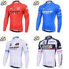2015 Summer Cycling Racing Team Long Sleeve Men's Black Team Cycling Jersey