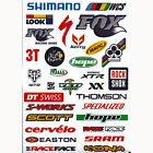 New Outdoor Bicycle Cycling Mountain Bike Skateboard Decal Stickers *1 A4 Sheet