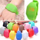 Men Women Digital LED Touch Sports Bracelet Wrist Watch Candy Unisex Watches