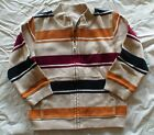 NWT GYMBOREE DINOSAUR ACADEMY MAROON YELLOW CARDIGAN SWEATSHIRT POCKET