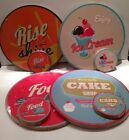 Vintage Style Retro Round Placemats 4 Table Mats 4 Coasters *NEW*